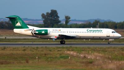 YR-FKB - Fokker 100 - Carpatair
