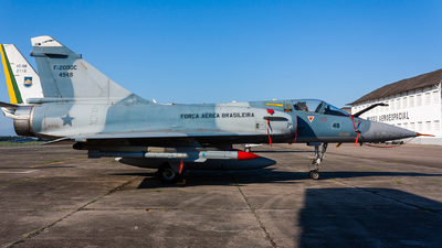 FAB4948 - Dassault Mirage 2000C - Brazil - Air Force