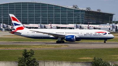 G-ZBKI - Boeing 787-9 Dreamliner - British Airways