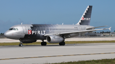 N514NK - Airbus A319-132 - Spirit Airlines