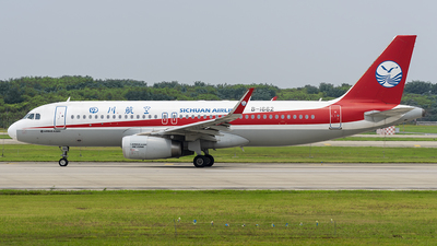 A picture of B1662 - Airbus A320232 - Sichuan Airlines - © ZHOUYIFEI