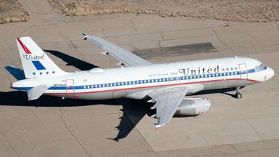 N475UA - Airbus A320-232 - United Airlines