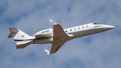 A picture of VHNPP - Learjet 60 - [60158] - © Mitch Coad