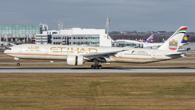 A6-ETN - Boeing 777-3FXER - Etihad Airways