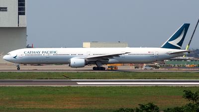 B-HNI - Boeing 777-367 - Cathay Pacific Airways