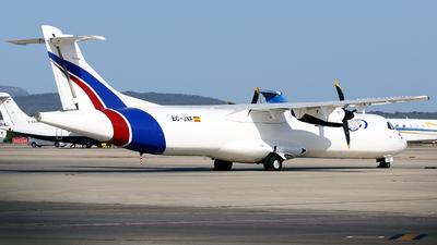 A picture of ECJXF - ATR 72211(F) - Swiftair - © Javier Rodriguez - Amics de Son Sant Joan