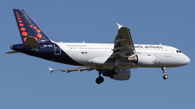 A picture of OOSSL - Airbus A319111 - Brussels Airlines - © PM