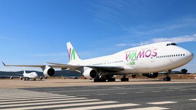 A picture of ECMRM - Boeing 7474H6 - [28435] - © Javier Rodriguez - Amics de Son Sant Joan