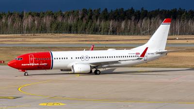 SE-RPE - Boeing 737-8JP - Norwegian