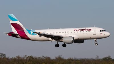 D-ABNU - Airbus A320-214 - Eurowings