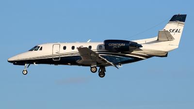 G-SKAL - Cessna 560XL Citation XLS+ - Caterus