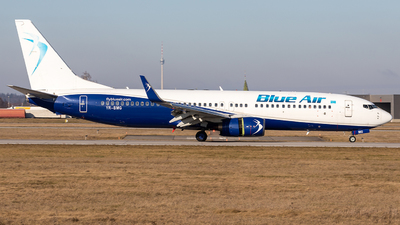 A picture of YRBMG - Boeing 73786N - Blue Air - © Marco Wolf