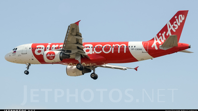 RP-C8986 - Airbus A320-216 - AirAsia Zest