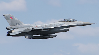 4061 - Lockheed Martin F-16CJ Fighting Falcon - Poland - Air Force