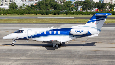 N74JX - Pilatus PC-24 - Private