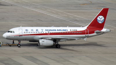 B-6406 - Airbus A319-133 - Sichuan Airlines