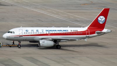 A picture of B6406 - Airbus A319133 - Sichuan Airlines - © Zhou