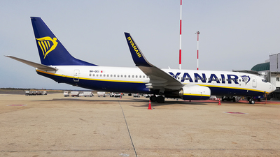 A picture of 9HQEI - Boeing 7378AS - Ryanair - © Daniel Veronesi - RomeAviationSpotters