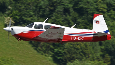 A picture of HBDIC - Mooney M20J - [243240] - © Mirko Bleuer