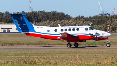 VH-FDG - Beechcraft B200 Super King Air - Royal Flying Doctor Service of Australia (Queensland Section)