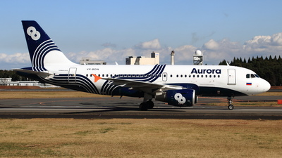 A picture of VPBDN - Airbus A319111 - Aurora - © NRT Spotter