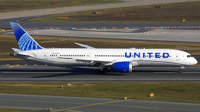A picture of N29978 - Boeing 7879 Dreamliner - United Airlines - © Daniel Klein