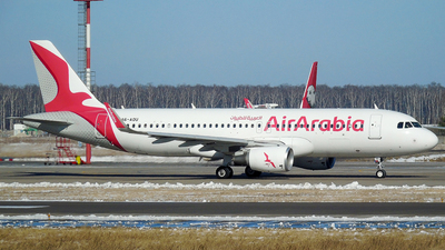 A6-AOU - Airbus A320-214 - Air Arabia