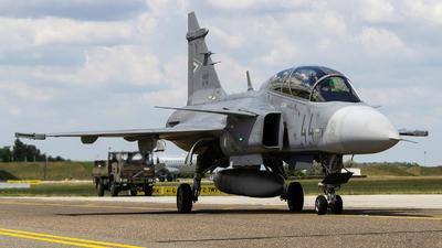 44 - Saab JAS-39D Gripen - Hungary - Air Force