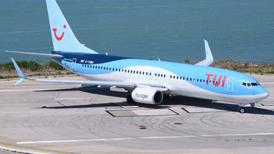 A picture of GTAWC - Boeing 7378K5 - TUI fly - © Dominik Erhardt