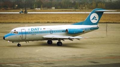 OO-DJA - Fokker F28-3000 Fellowship - Delta Air Transport (DAT)