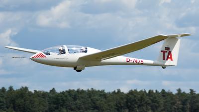 A picture of D7475 - Grob Twin Astir I - [] - © RAFAL KUKOWSKI