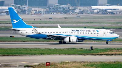 B-1708 - Boeing 737-85C - Xiamen Airlines