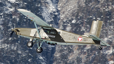 3G-EF - Pilatus PC-6/B2-H2 Turbo Porter - Austria - Air Force