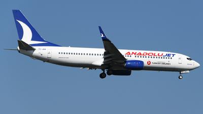TC-JHA - Boeing 737-8F2 - AnadoluJet