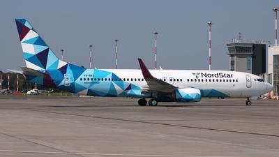 VQ-BBX - Boeing 737-8JP - Nordstar