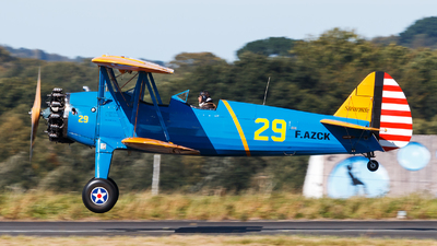 F-AZCK - Boeing A75N1 Stearman - Private