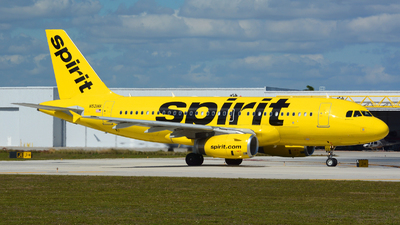 N521NK - Airbus A319-132 - Spirit Airlines