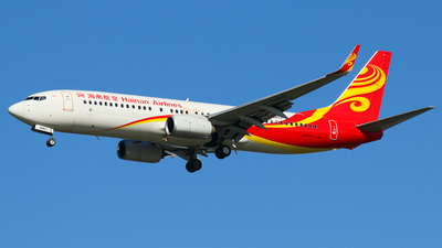 B-5853 - Boeing 737-84P - Hainan Airlines