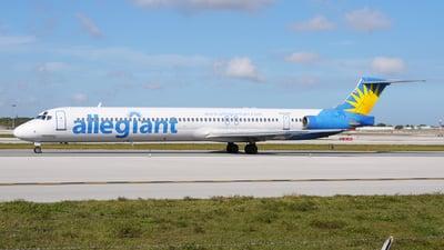 N404NV - McDonnell Douglas MD-88 - Allegiant Air