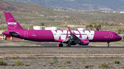 TF-DOG - Airbus A321-211 - WOW Air