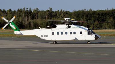 EZ-S720 - Sikorsky S-92A Helibus - Turkmenistan - Government