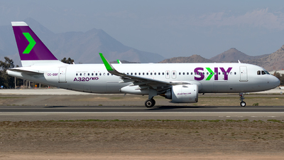 CC-DBF - Airbus A320-251N - Sky Airlines