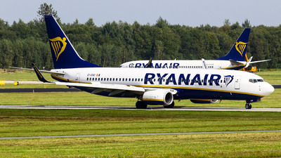 A picture of EIENO - Boeing 7378AS - Ryanair - © C. v. Grinsven