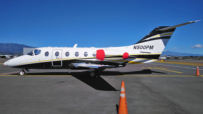 N500PM - Raytheon Hawker 400XP - Private