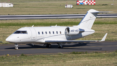 A picture of A9CACE - Bombardier Challenger 605 - [5778] - © Üveges Gábor