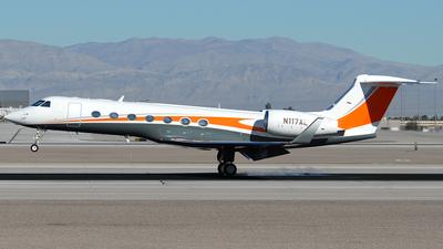 N117AL - Gulfstream G550 - Private