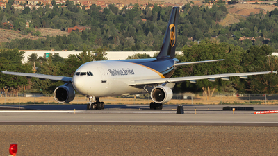A picture of N153UP - Airbus A300F4622R - UPS Airlines - © Nate Morin