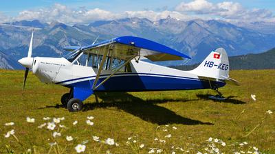 HB-KEG - Aviat A-1 Husky - Private