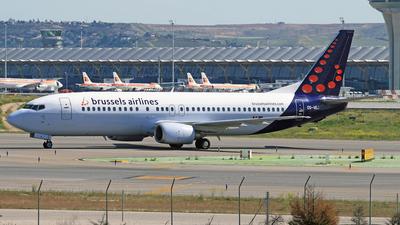 OO-VEJ - Boeing 737-405 - Brussels Airlines