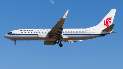 A picture of B1738 - Boeing 73789L - Air China - © omkgdz